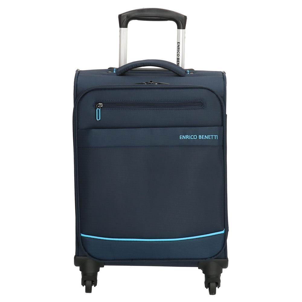 Enrico Benetti Nashville koffers/trolley blauw