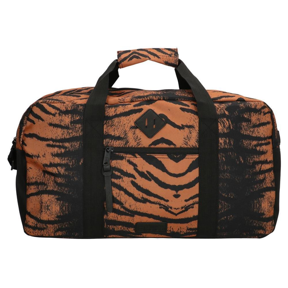 Enrico Benetti Londen reistas/sporttas tijger print