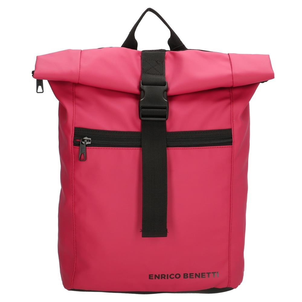 Enrico Benetti Townsville rugtas roze-rood 15 inch