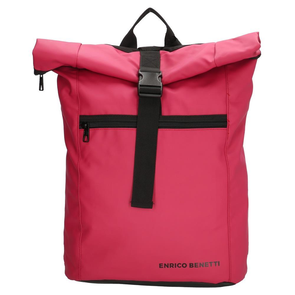 Enrico Benetti Townsville rugtas roze-rood 17 inch