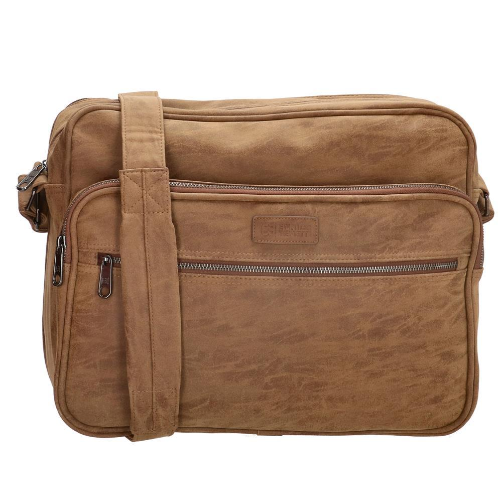 Enrico Benetti Madrid laptoptas/ business tas bruin 15 inch