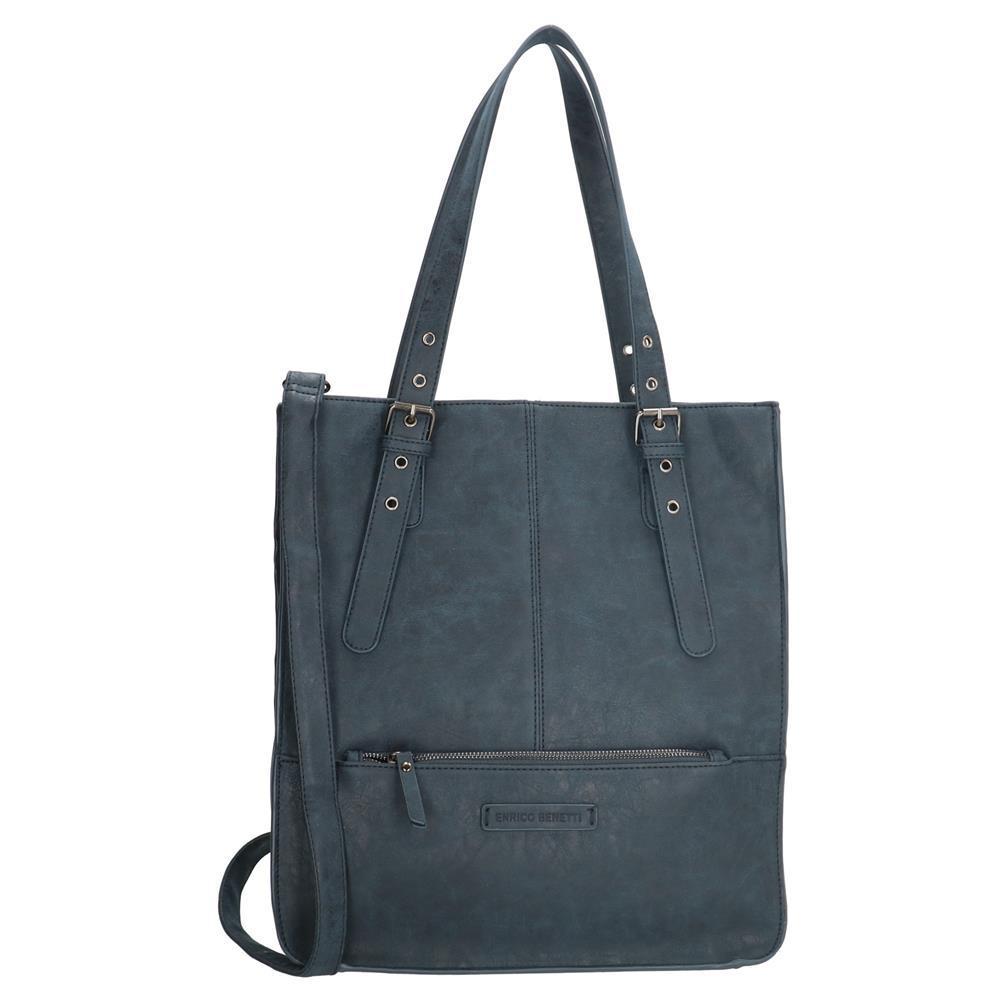 Enrico Benetti Kate shopper blauw