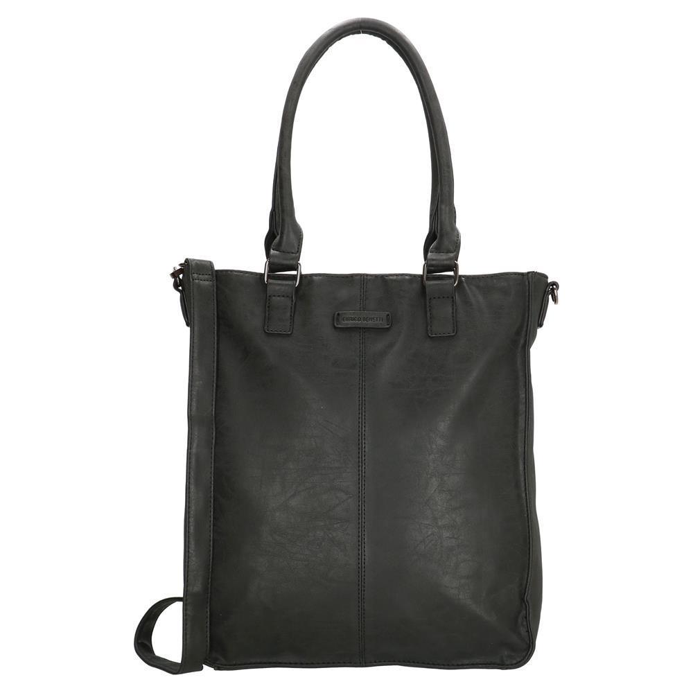 Enrico Benetti Metz shopper zwart 14 inch