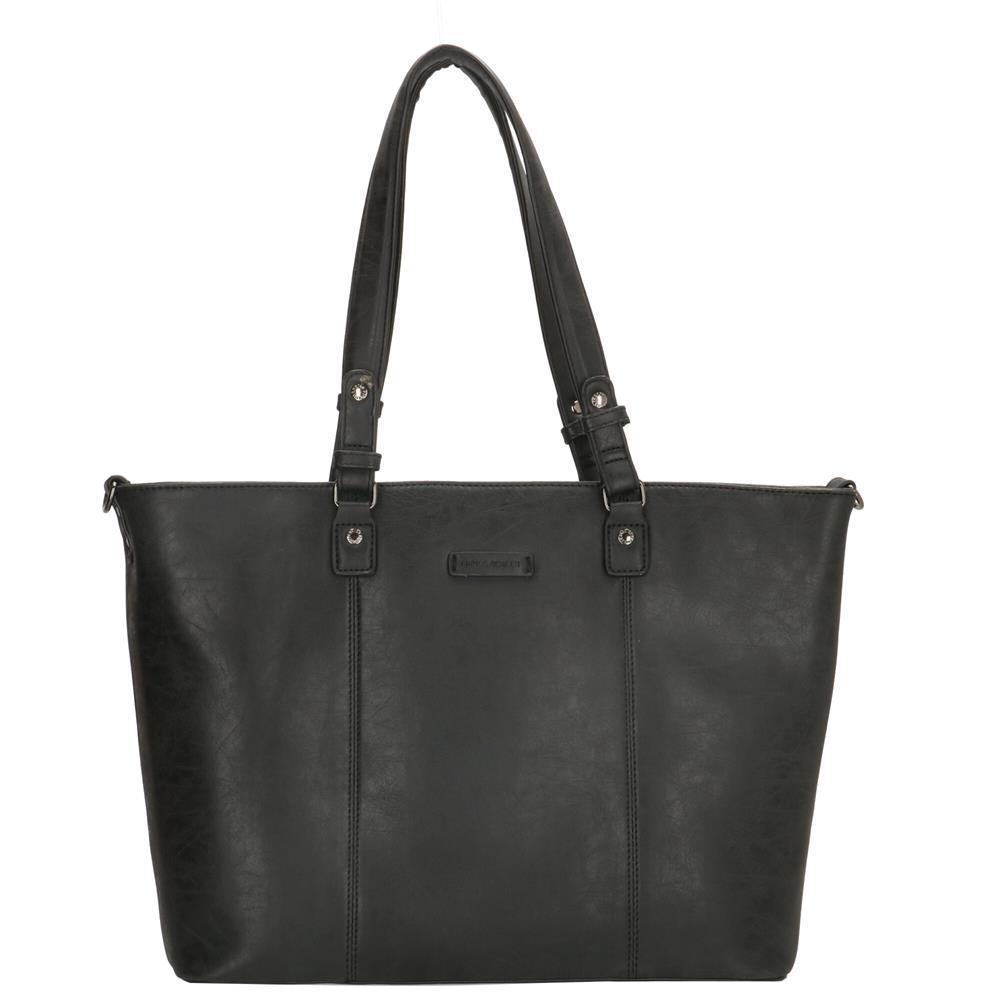 Enrico Benetti Kate shopper zwart 15 inch