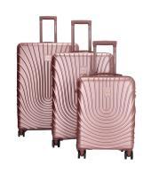 Enrico Benetti Calgary koffers/trolley rosé