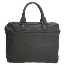 Enrico Benetti Madrid laptoptasche/business tasche schwarz 15 inch