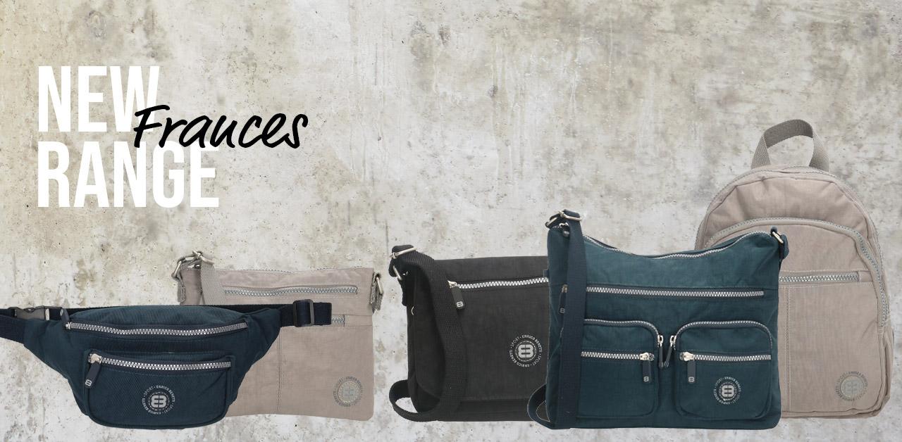New: crinkle nylon bags Frances