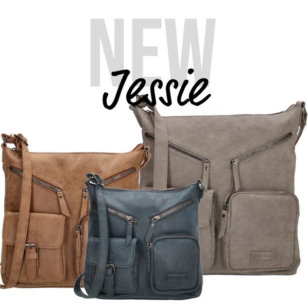 New: Jessie shoulder bags