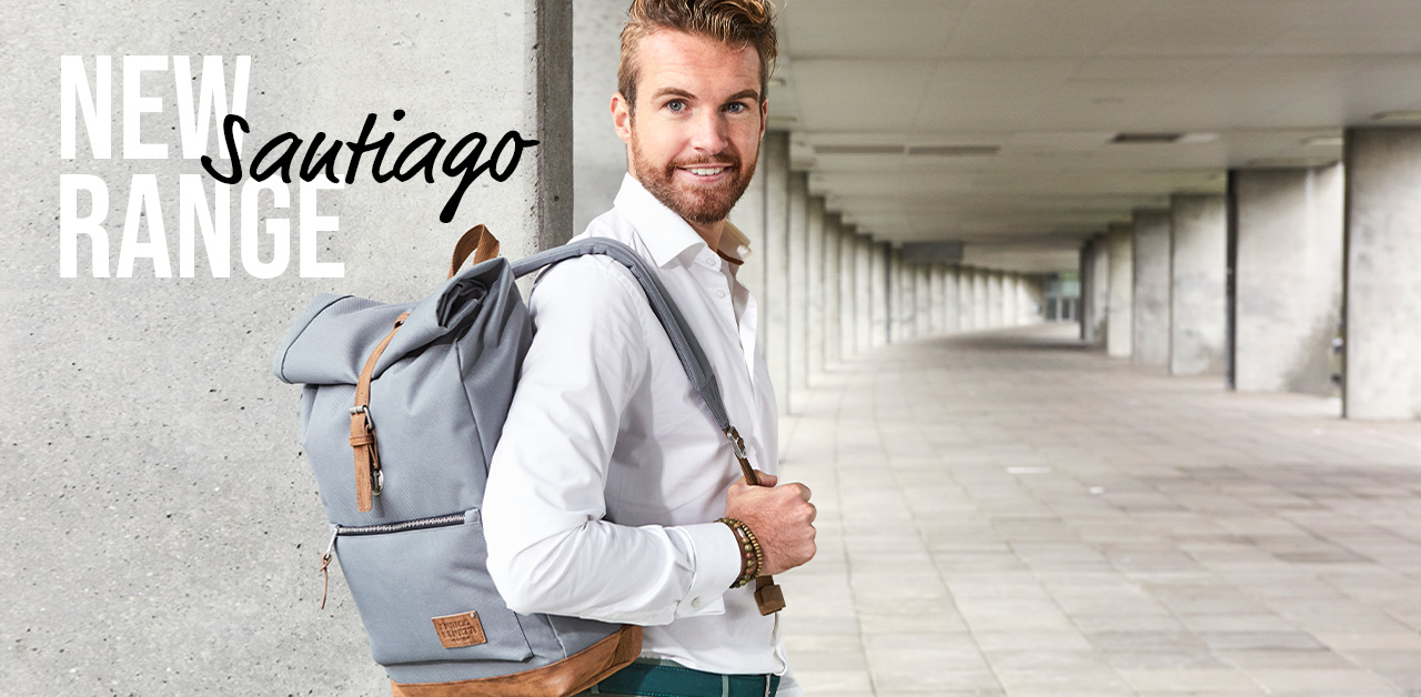 New: Santiago backpacks