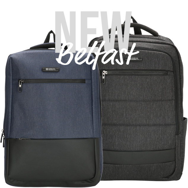 New: Belfast backpacks