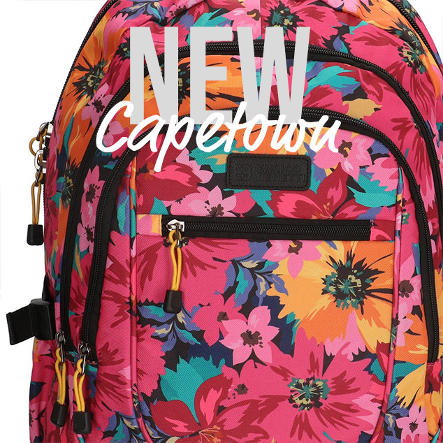 New: Capetown backpacks