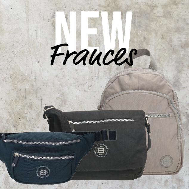 New: Frances crinkle nylon bags