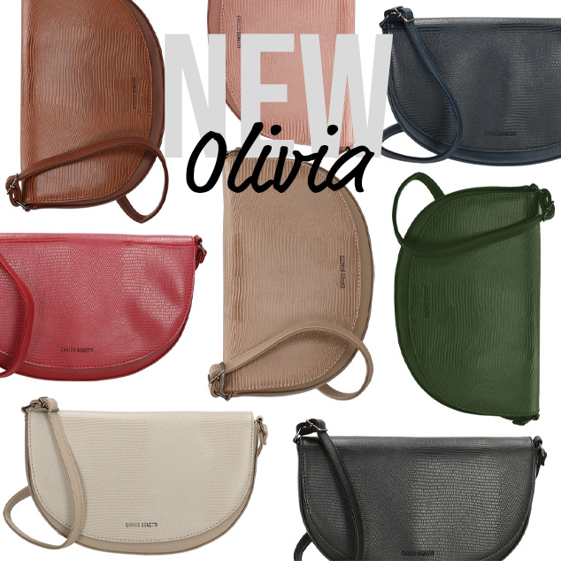 New: Olivia shoulderbags