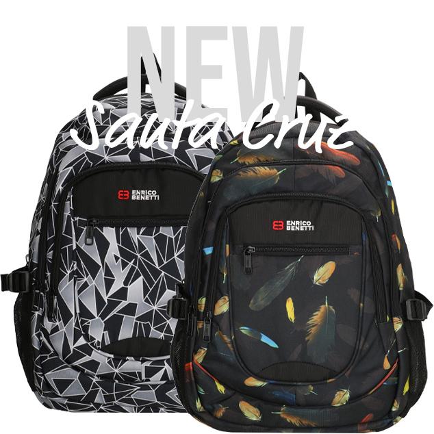 New: Santa Cruz backpacks