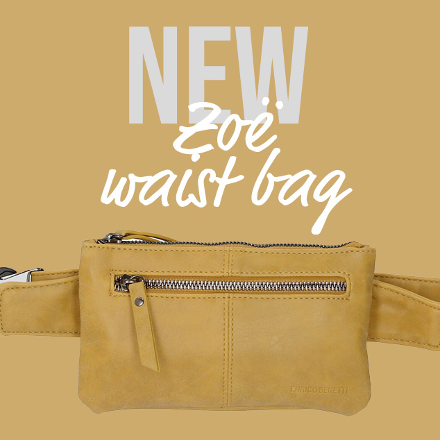 New: Zoë waist bag